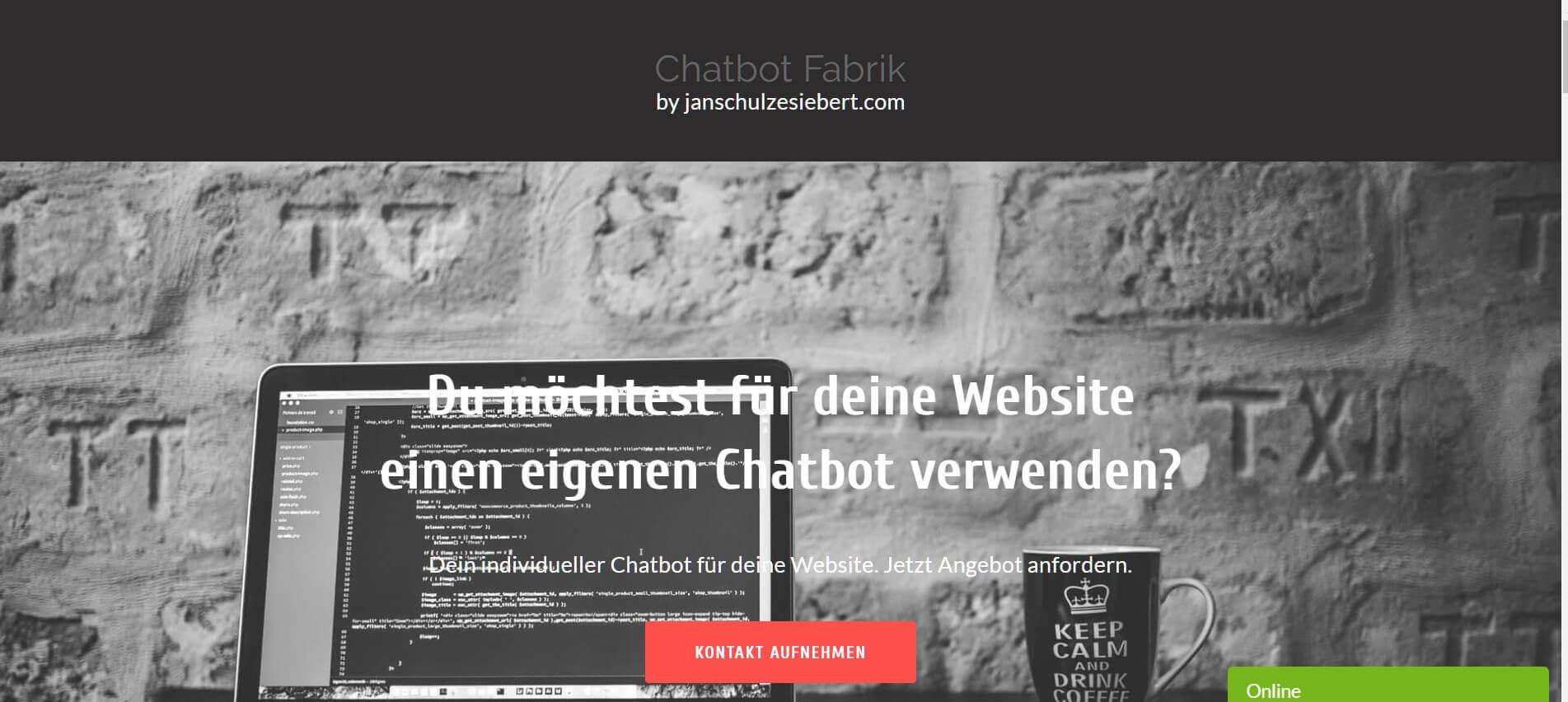 Chatbot erstellen Chatbot Fabrik