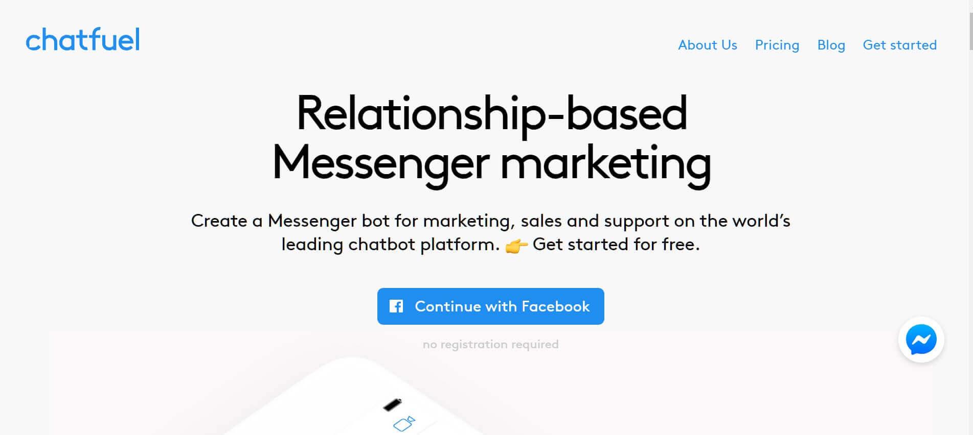 Chatbot erstellen Chatfuel