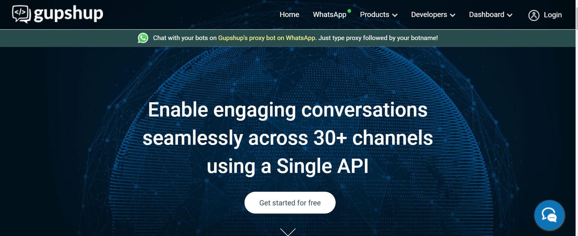 Chatbot erstellen GUPshup