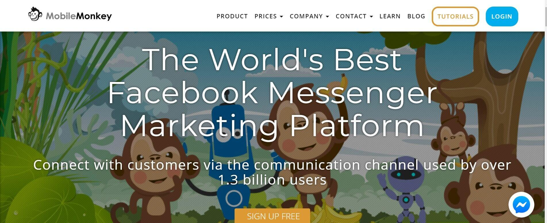 Chatbot erstellen MobileMonkey