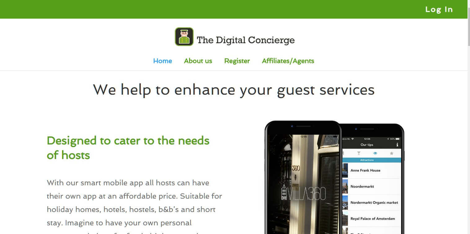 Digitales Hotel The Digital Concierge