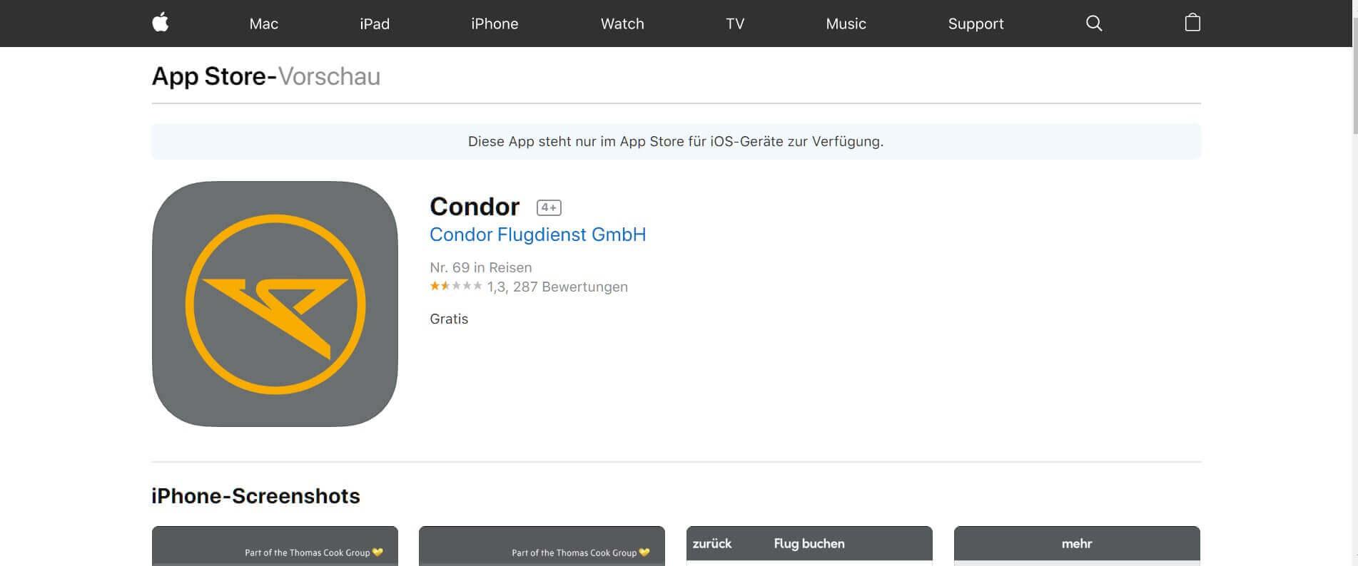 Check in App Condor