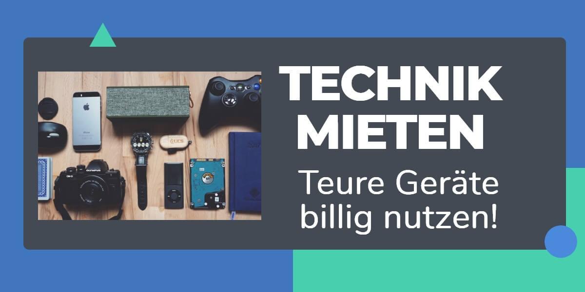 Technik mieten – meine Erfahrung mit Grover I Test