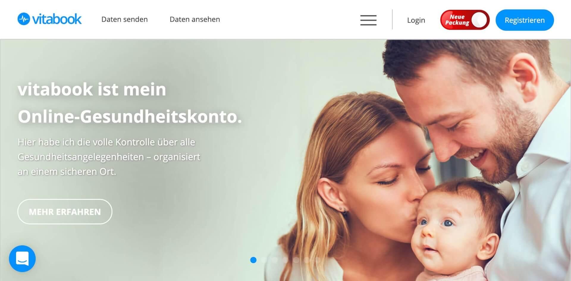 vitabook gesundheitskonto digitale patientenakte