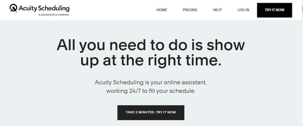 Digital Termin vereinbaren Acuity Scheduling