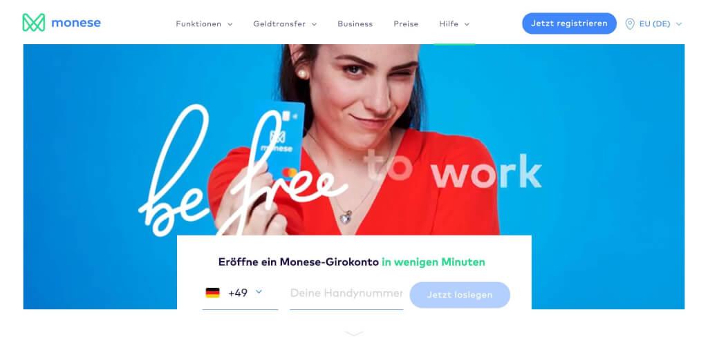 Monese   FinTech Banken