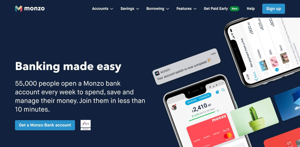 Monzo Banking FinTech