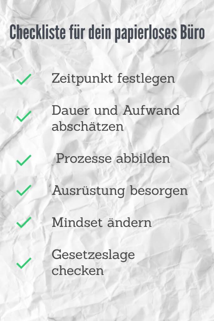 Papierloses Buero Umstieg Anleitung