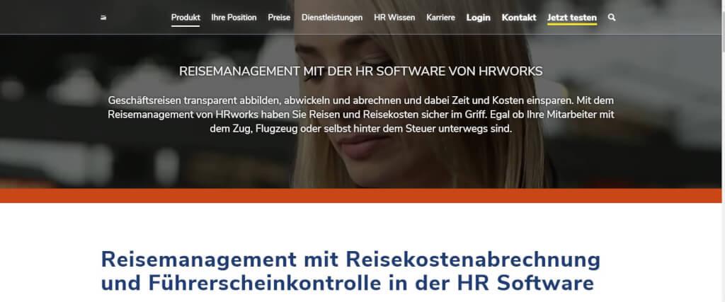 Reisekostenabrechnung digitalisieren HRWorks