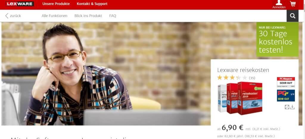 Reisekostenabrechnung digitalisieren Lexware