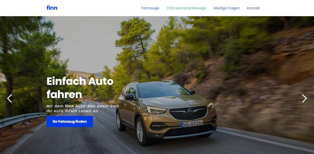 finn   Ihr Auto im finn Auto Abo 1