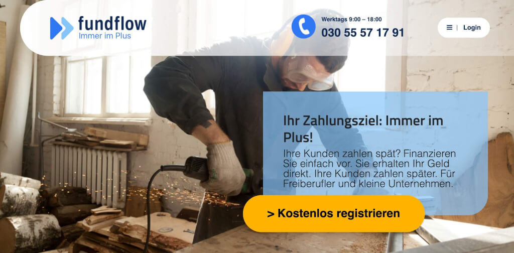 fundflow Factoring Anbieter 1