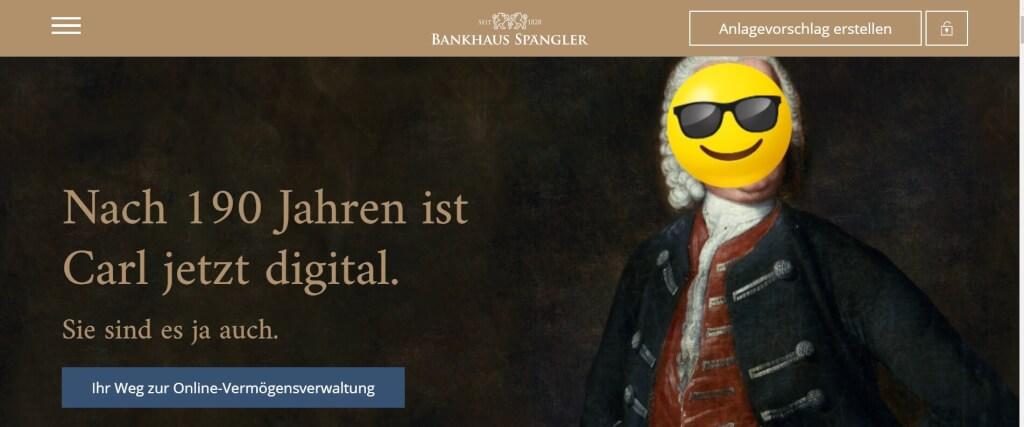 Digitale Vermoegensverwaltung Bankhaus Spaengler