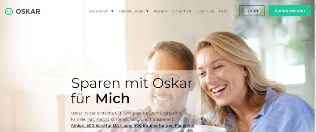 Digitale Vermoegensverwaltung OSKAR