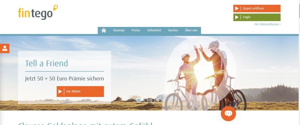 Digitale Vermoegensverwaltung fintego