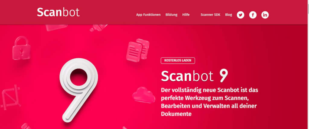 Scan Apps Scanbot