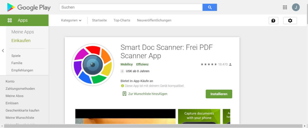 Scan Apps Smart Doc Scanner