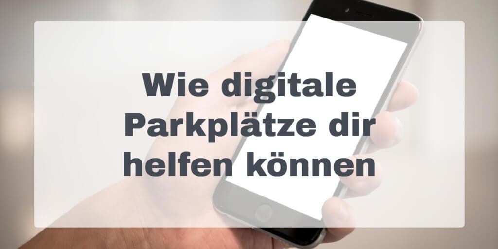 Digital Parkplaetze Hilfe