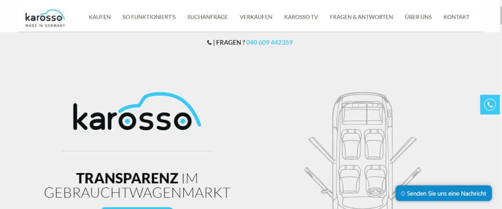 Gebrauchtwagen online Karosso