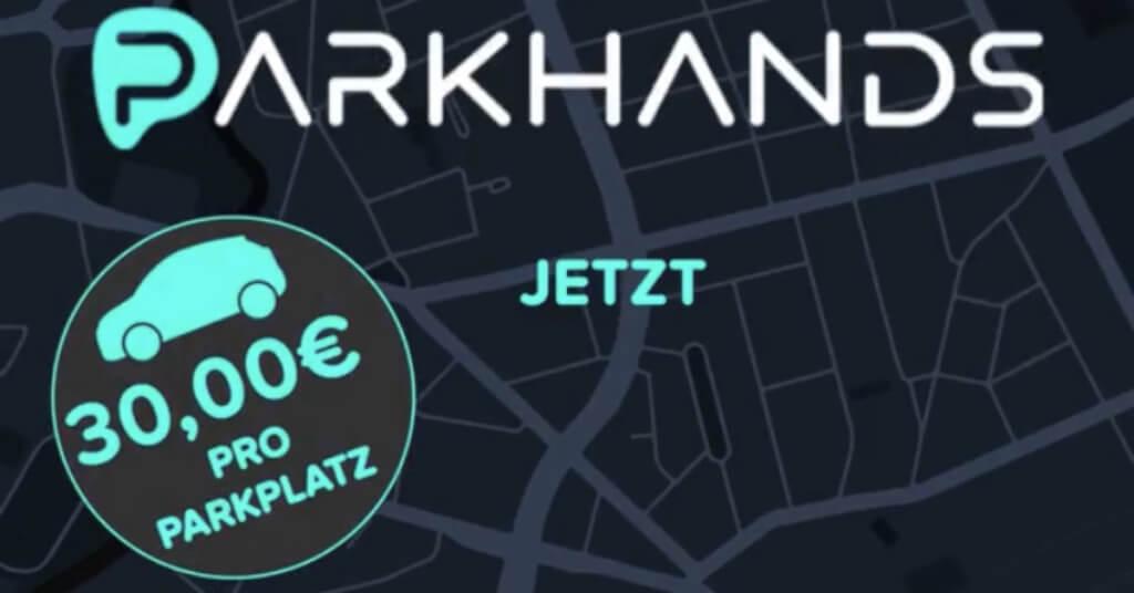 Parkplatz App Parkhands
