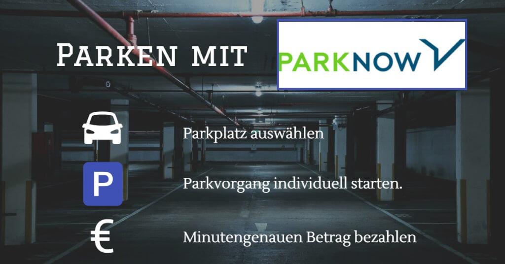 Parkplatz App Visual Park Now