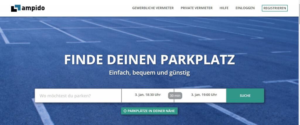 Parkplatz App ampido