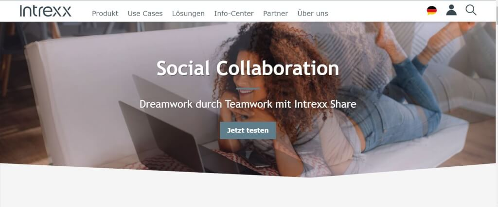 Social Intranet Intrexx Share