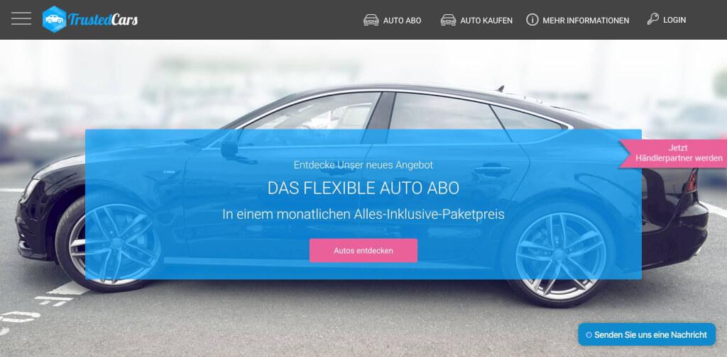 TrustedCars Auto Abo Anbieter   Digital Affin 1