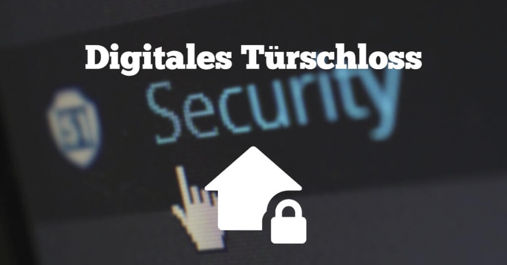 Visual Digitales Tuerschloss Sicherheit