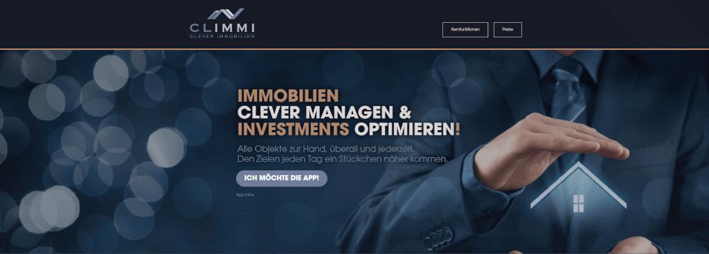 Vermietung digitalisieren CLIMMI