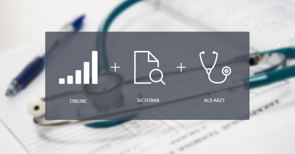Arzt Online Eyecatcher Sichtbar