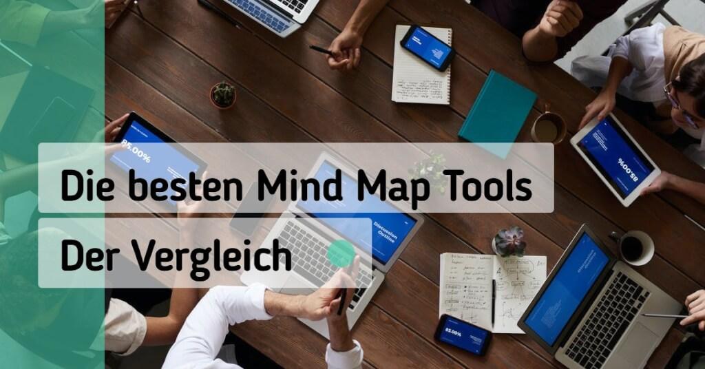 Beitrag: Die besten Online Mind Mapping Tools für das Arbeiten im Homeoffice im Vergleich