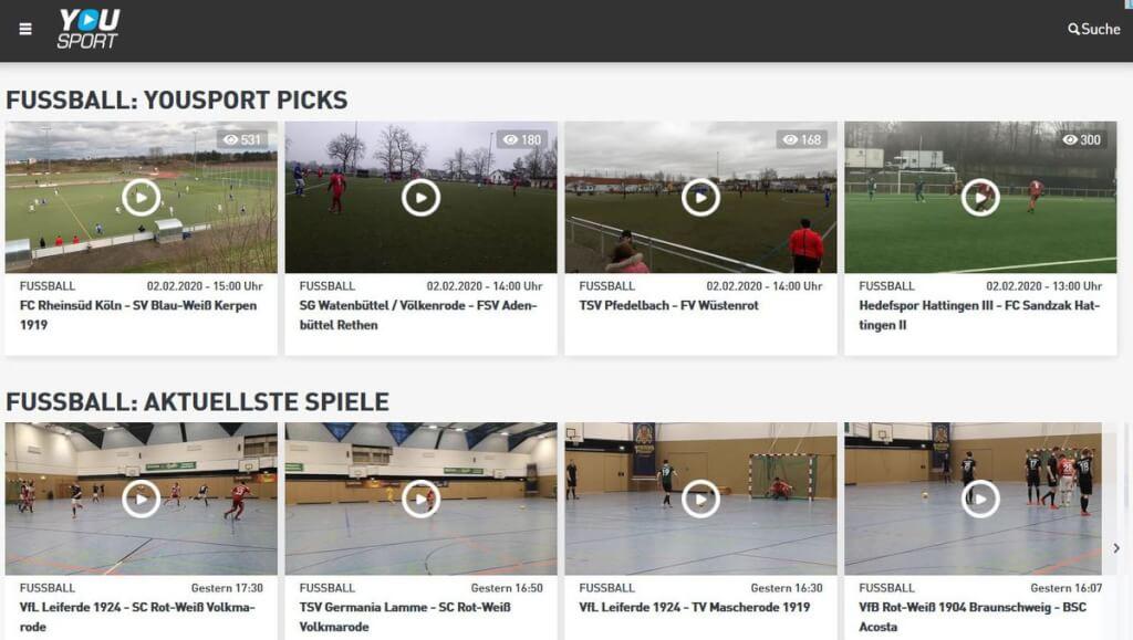 Videoanalyse Fussball YouSport screenshot
