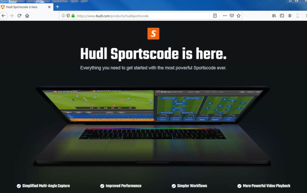 Videoanalyse Fussball hudl screenshot