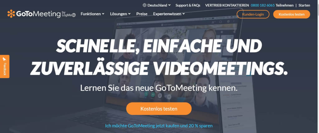 Webinar Software GoToMeeting