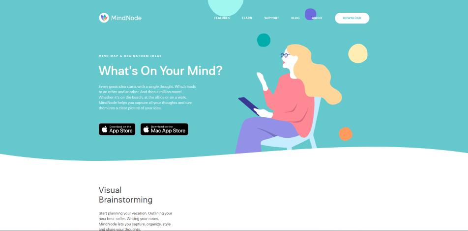 mindmapping tools mindnode startseite