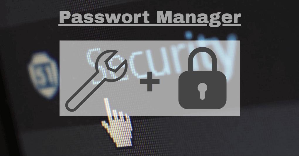 passwort manager eyecatcher symbole