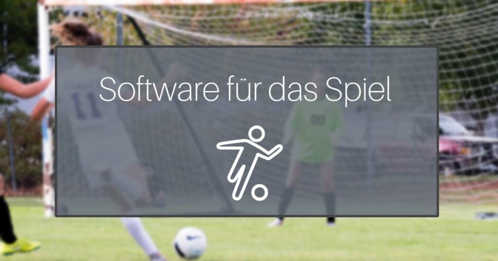 Fussballtrainer App Fussballsoftware Eyecatcher spiel 1
