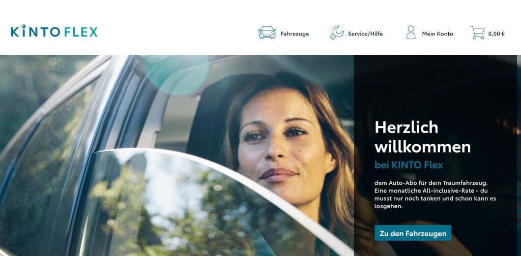 Kinto Flex   Auto Abo Anbieter