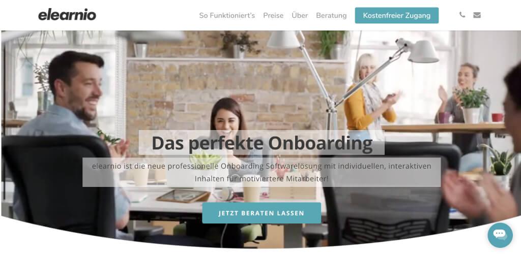 Onboarding Software Mitarbeiter einarbeiten mit elearnio   Digital Affin