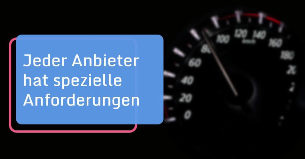 Auto Abo Voraussetzungen Anforderungen