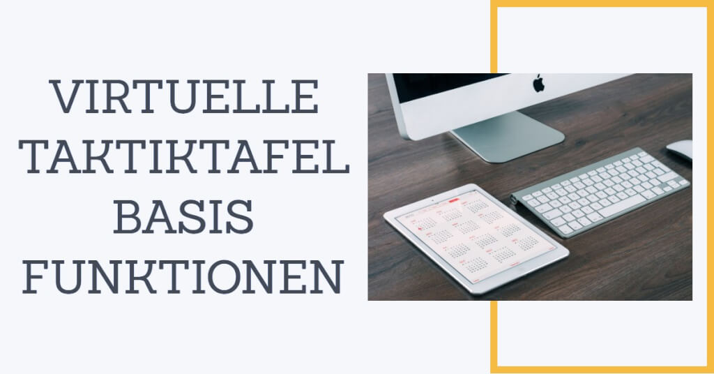 Virtuelle Taktiktafel Funktion