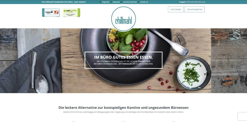 online kantine online catering chillmahl