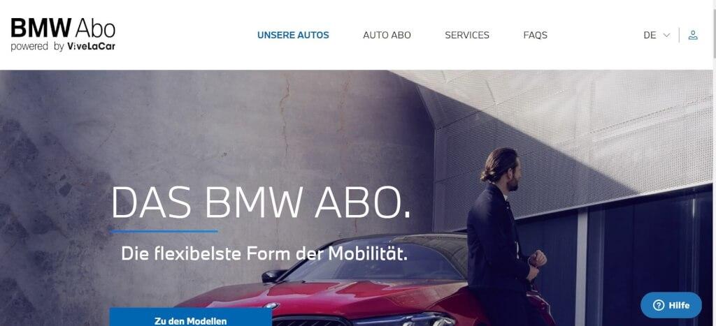Auto Abo BMW Abo