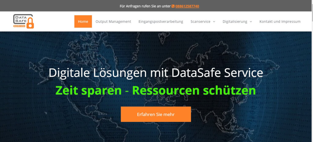 Digitaler Briefkasten DataSafe Service