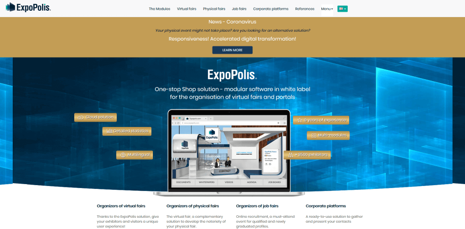 online messe virtuelle messe software expopolis