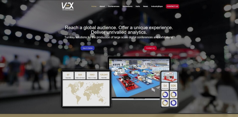 online messe virtuelle messe software v ex
