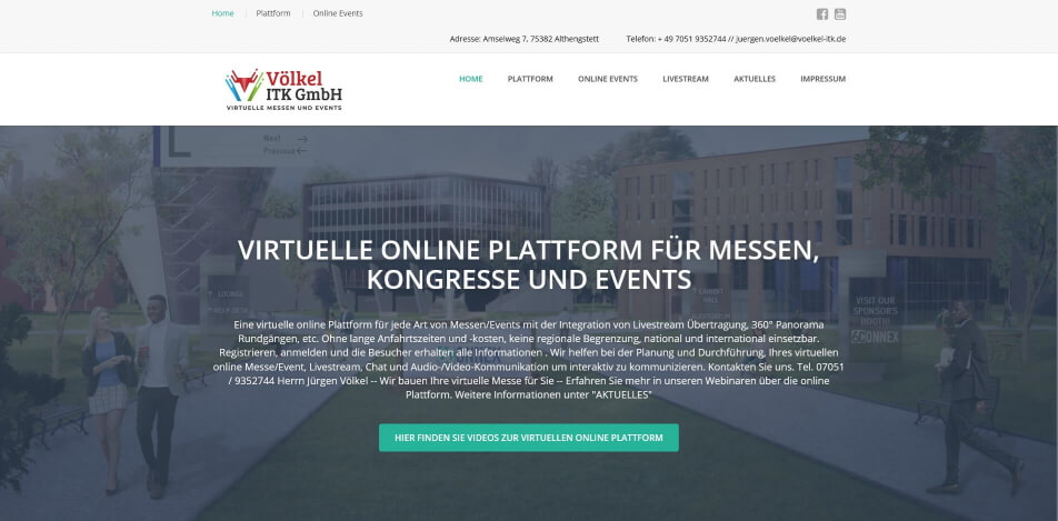 online messe virtuelle messe software voelkel itk