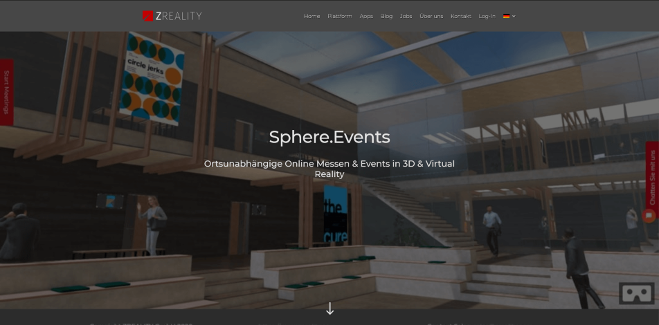 online messe virtuelle messe software zreality