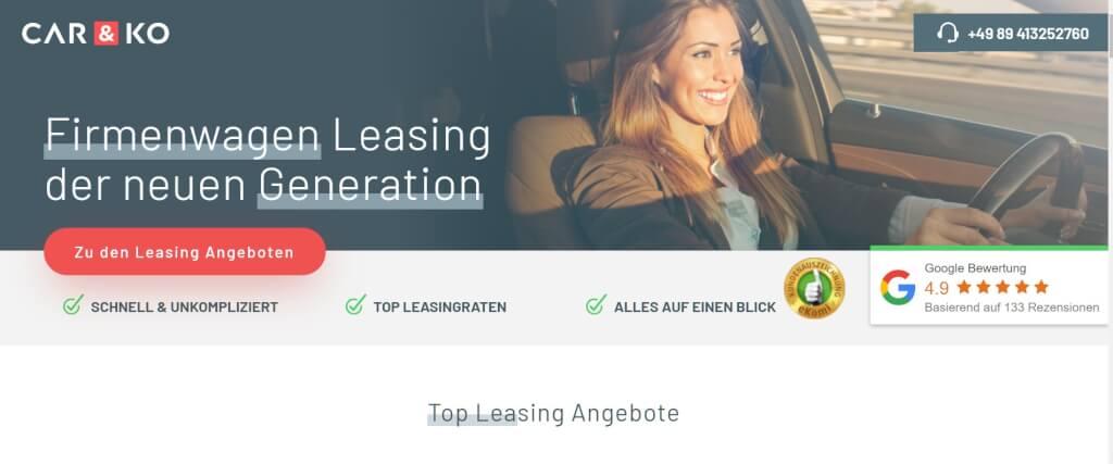 Auto Leasing Vergleich Car KO